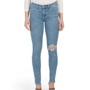 Levi's 711 skinny distressed outta time jeans 31